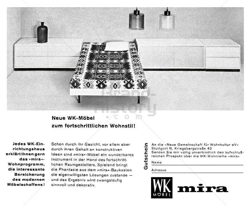 WK MÖBEL   Brand-History