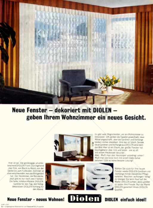 Diolen   Neue Fenster · Dekoriert Mit DIOLEN · Geben Ihrem Wohnzimmer Ein  Neues Gesicht. | Brand History
