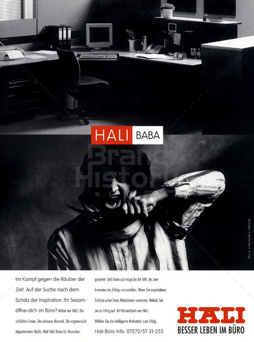 HALI - HALI BABA · Im Kampf gegen die Räuber der Zeit. Auf der Suche ...