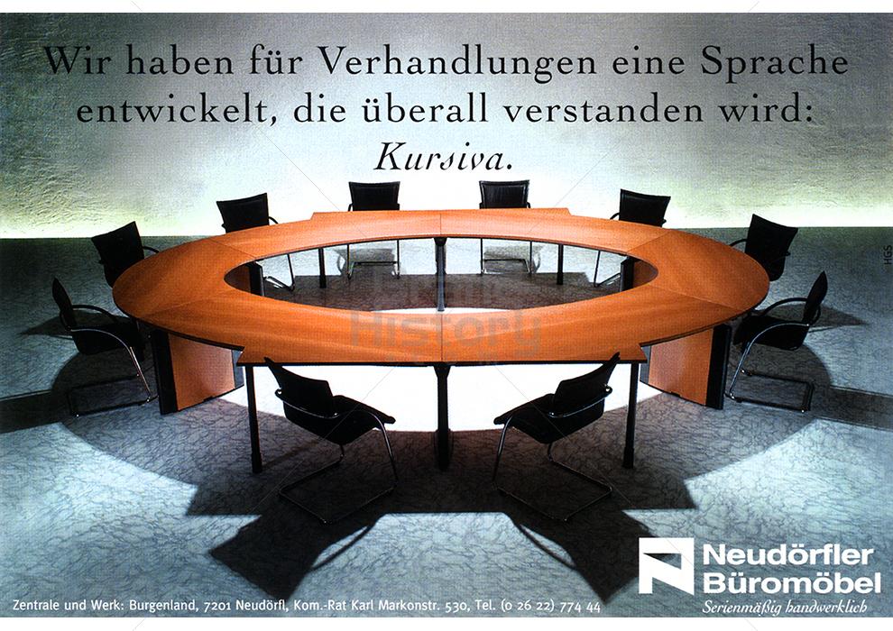 Neudörfler Büromöbel - Wir haben für Verhandlungen eine Sprache ...