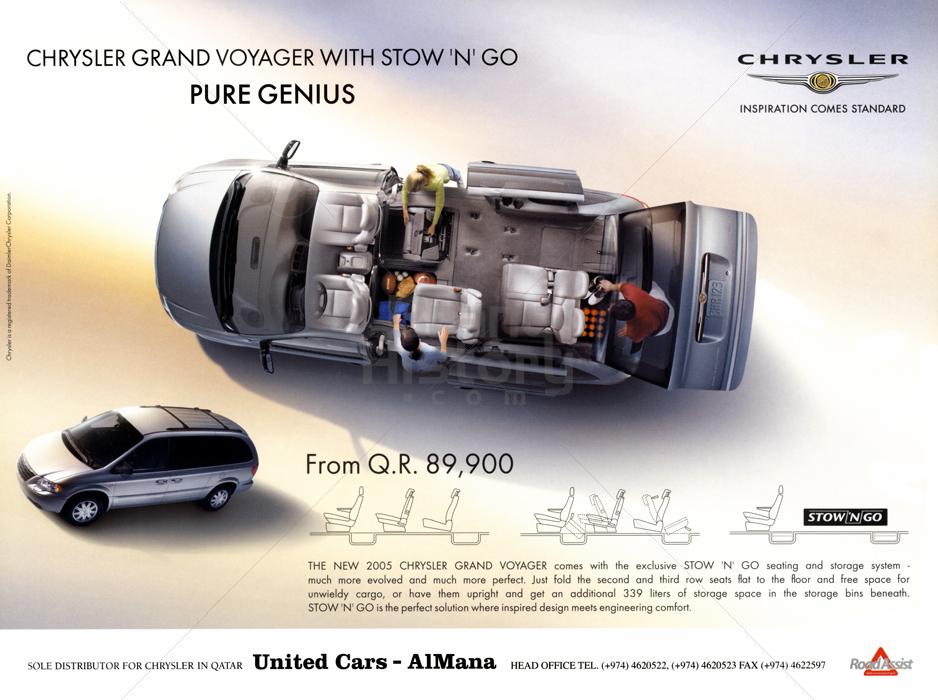 CHRYSLER - United Cars · AlMana · CHRYSLER GRAND VOYAGER