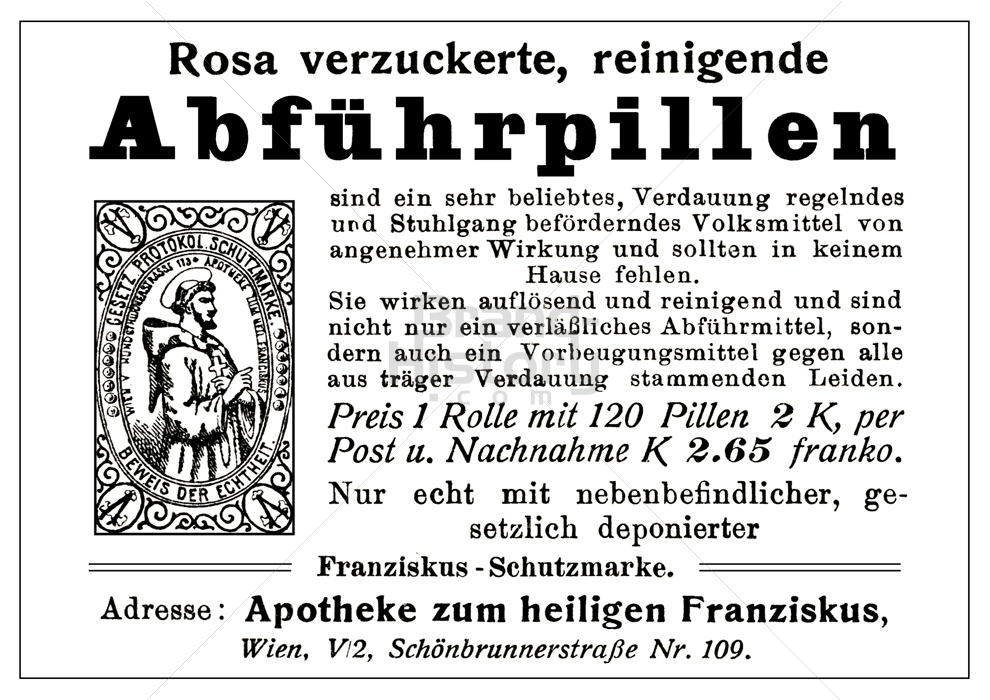 Franziskus Apotheke Wien Rosa Verzuckerte Reinigende