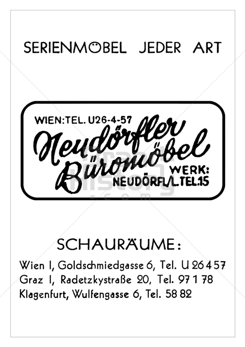 neudörfler - SERIENMÖBEL JEDER ART · Neudörfler Büromöbel · WERK ...