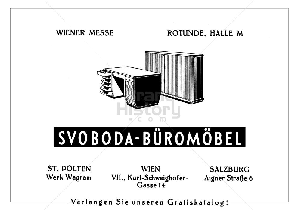 Svoboda Büromöbel | Brand-History