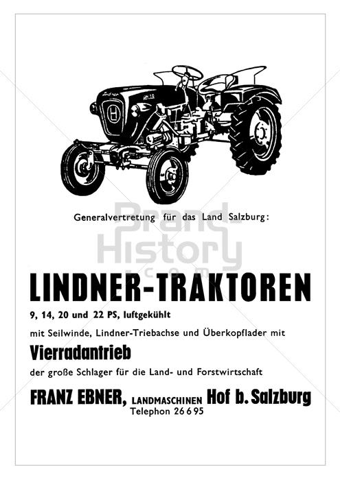 Lieblings FRANZ EBNER, Hof bei Salzburg - LINDNER-TRAKTOREN · 9, 14, 20 und &HK_88
