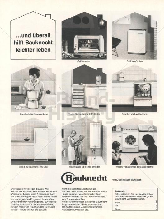 bauknecht und berall hilft bauknecht leichter leben bauknecht wei was frauen. Black Bedroom Furniture Sets. Home Design Ideas