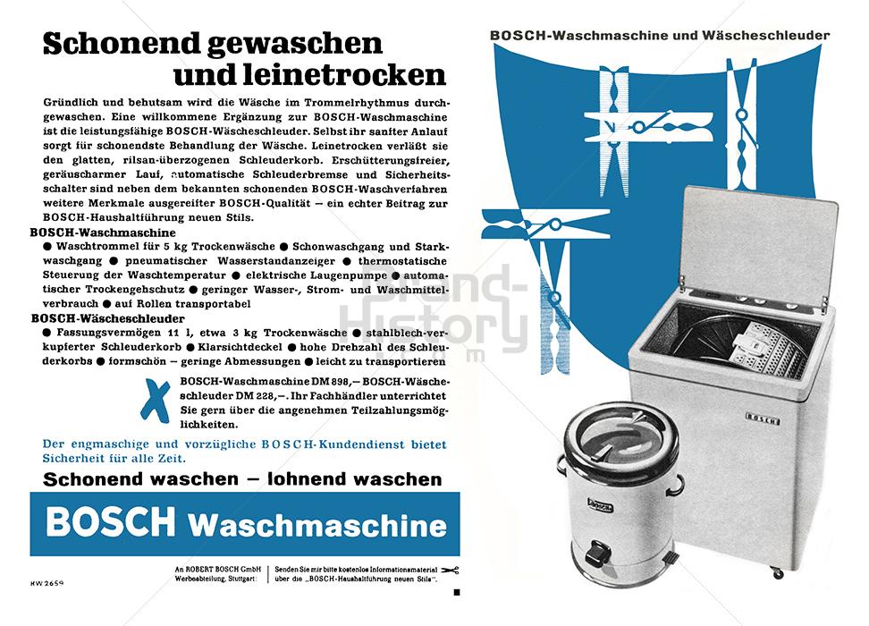 bosch bosch waschmaschine schonend gewaschen und leinent werbeslogans claims und. Black Bedroom Furniture Sets. Home Design Ideas