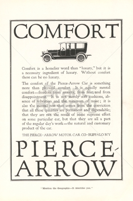 THE PIERCE-ARROW MOTOR CAR CO.
