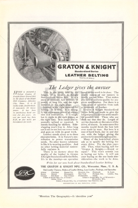 THE GRATON & KNIGHT MFG. CO.