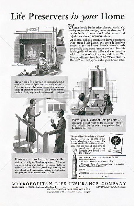 metropolitan life insurance company   life preservers in