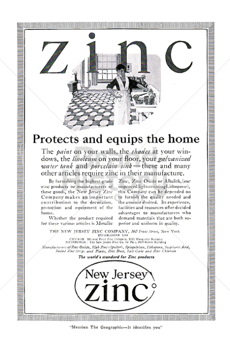 THE NEW JERSEY ZINC COMPANY