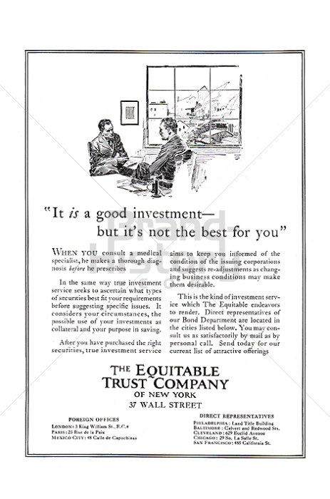 THE EQUITABLE TRUST COMPANY