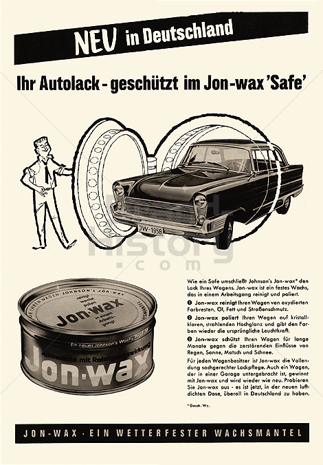 JOHNSON'S WACHS PRODUKTE