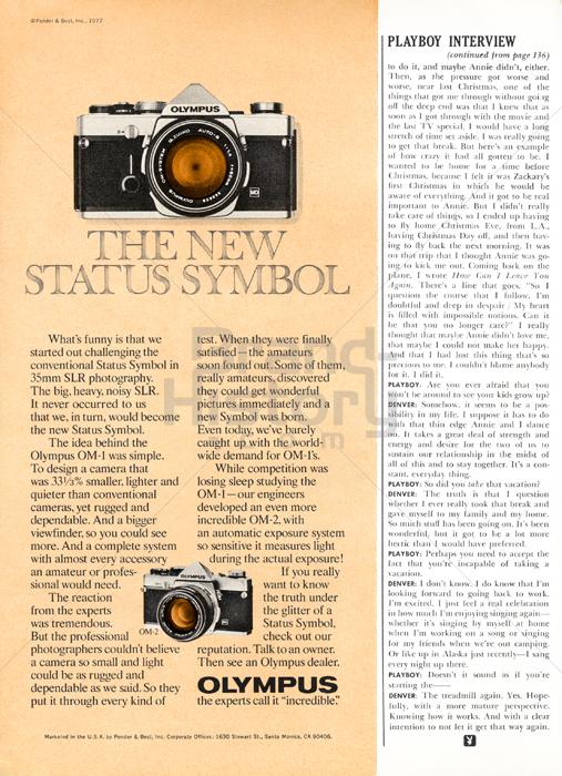 OLYMPUS - OM-1 · THE NEW STATUS SYMBOL. OLYMPUS · the ...