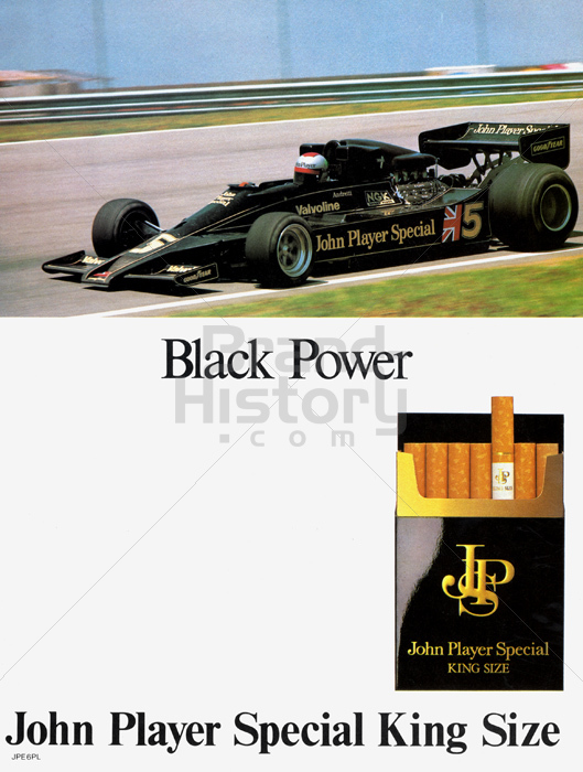 john player special black power sujet mario andretti. Black Bedroom Furniture Sets. Home Design Ideas