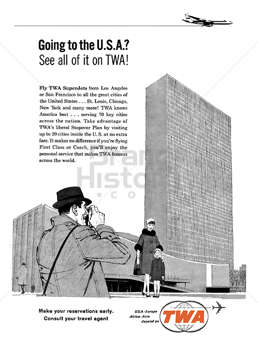 TWA TRANS WORLD AIRLINES