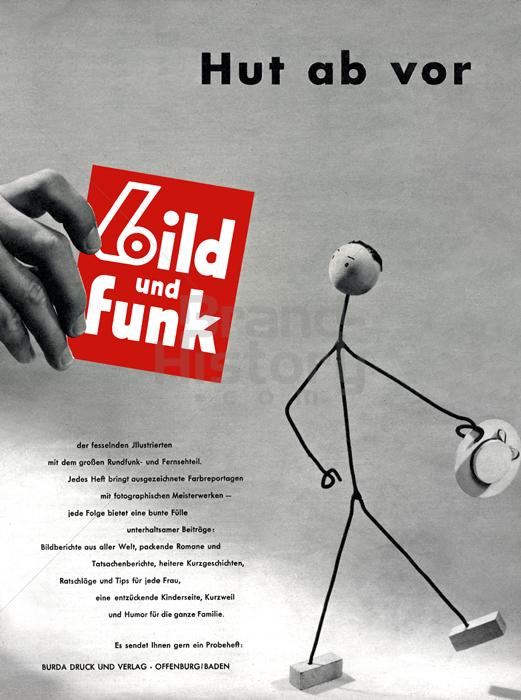 bild und funk hut ab vor bild und funk der fesselnden ill werbeslogans claims und. Black Bedroom Furniture Sets. Home Design Ideas