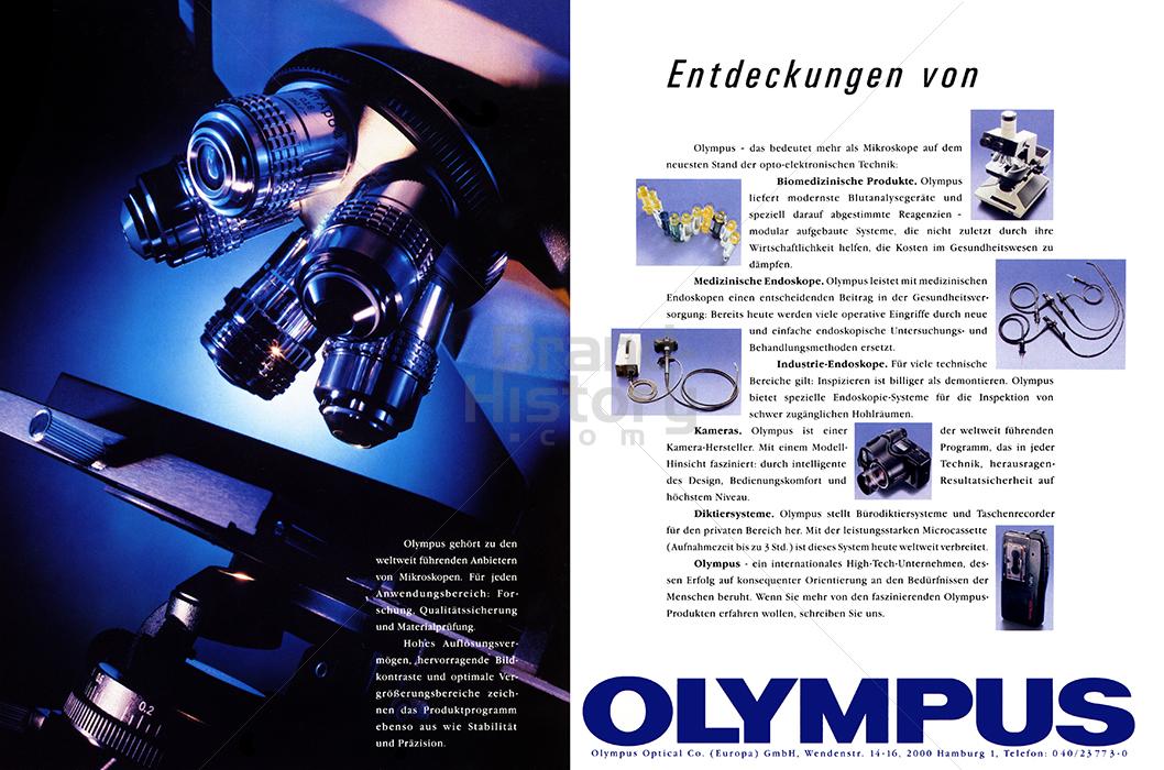OLYMPUS   Brand-History