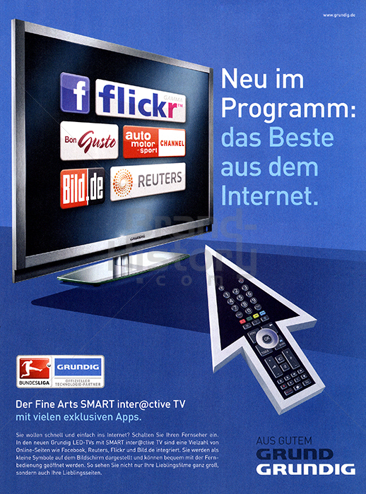 60 jahre fernsehen brand history. Black Bedroom Furniture Sets. Home Design Ideas