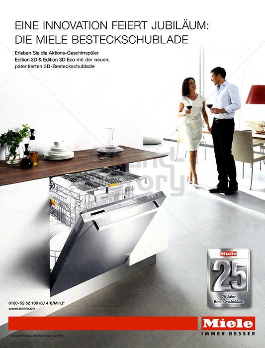 miele eine innovation feiert jubil um die miele besteckschublade 25 jahre besteckschublade. Black Bedroom Furniture Sets. Home Design Ideas