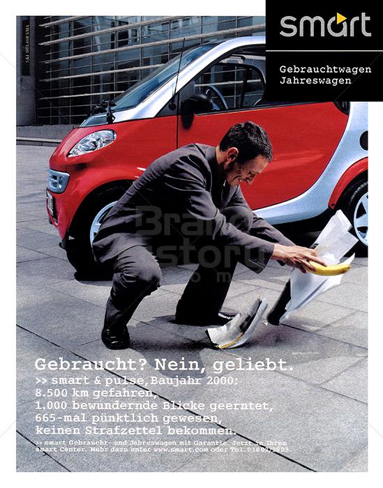 smart smart gebrauchtwagen jahreswagen gebraucht nein werbeslogans claims und. Black Bedroom Furniture Sets. Home Design Ideas