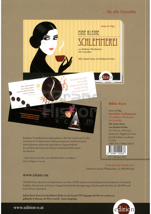 Edition Böck Zitateat Gmbh Verlagsbüro Karl Schwarzer