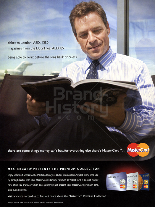 brand history mastercard The brand equity is fantastic, but we need to continue to evolve, both on the product and marketing side so that consumers and our customers prefer mastercard over anything else.