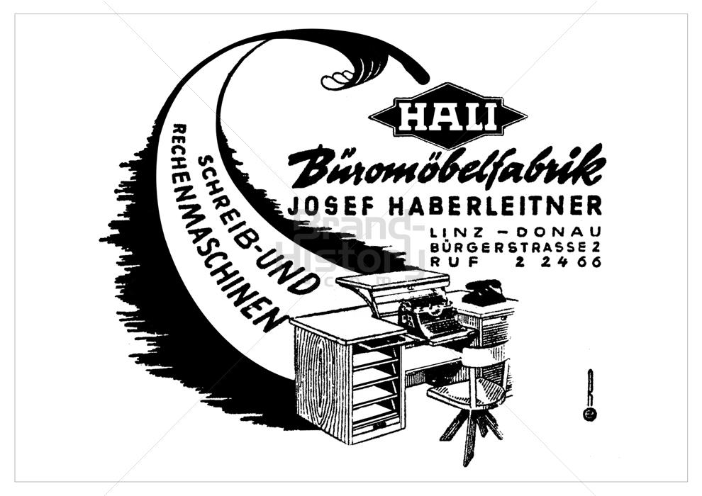HALI Büromöbel   Brand-History