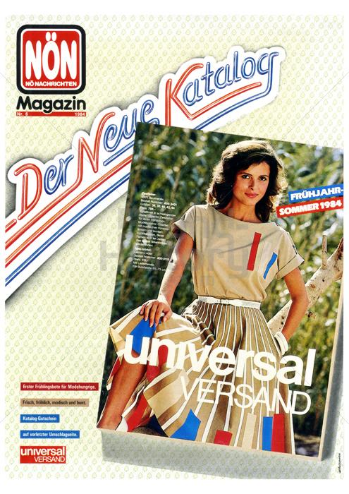 Universal versand der neue katalog fr hjahr sommer 1984 for Versand katalog