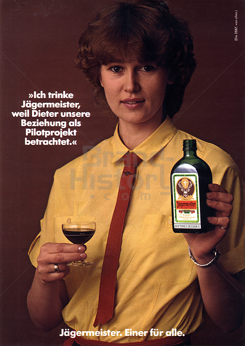 Ich Trinke Jagermeister Weil Brand History